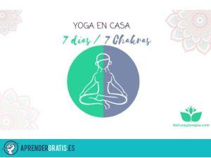 Aprender Gratis | Curso de yoga en casa 7 días/ 7 chakras