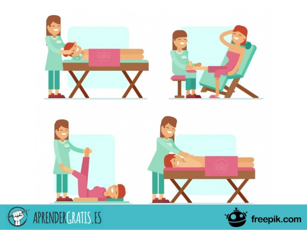 Curso sobre masaje antiestrés