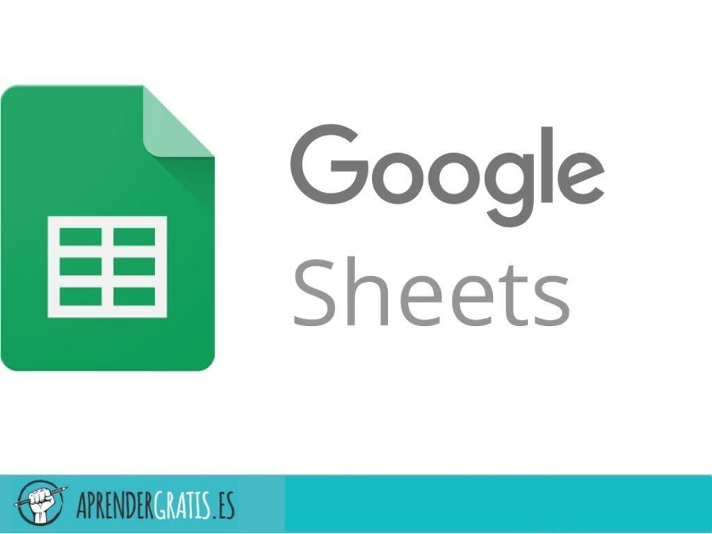 Aprender Gratis   Curso de Hojas de Cálculo de Google