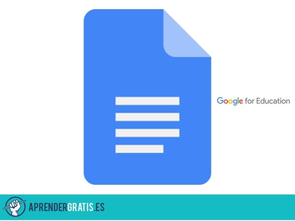 Aprender Gratis | Curso inicial de Google Docs