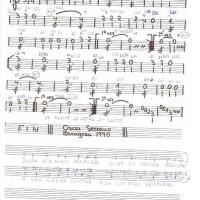 La sirena: acordes guitarra y melodía para bandurria. Letra.