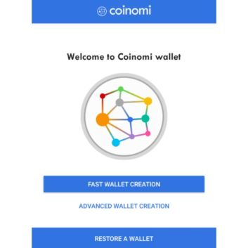 How to restore Bitcoin wallet and address on Coinomi