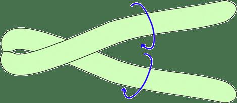 Atenção no movimento das flechas azul.