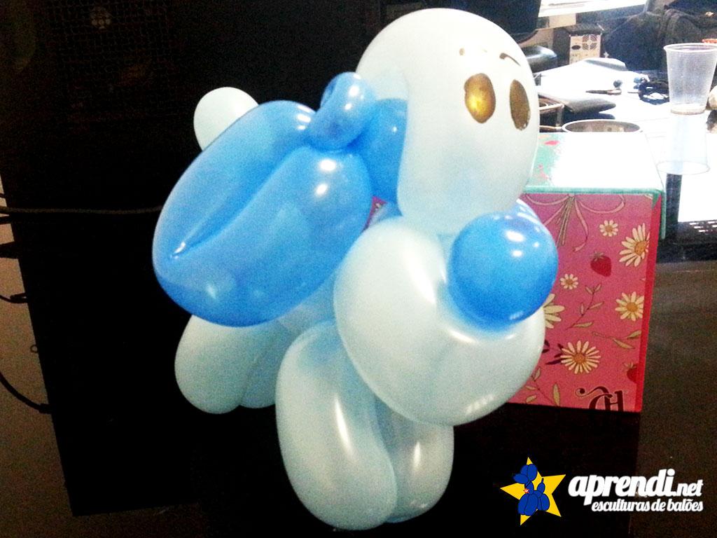 Detalhes do Cocker de balões