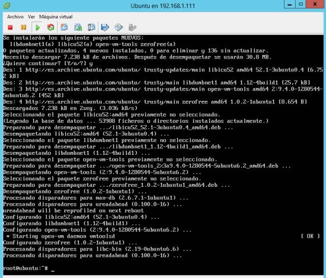 VMware tools ubuntu