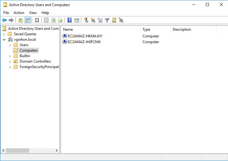 Simple Active Directory directorio activo