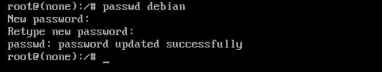 Resetear el password de un usuario en Debian cambio de pass