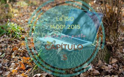 ISO 14001:2015 capítulo 5