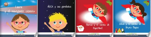 cuentos personalizados para niños Ludobooks