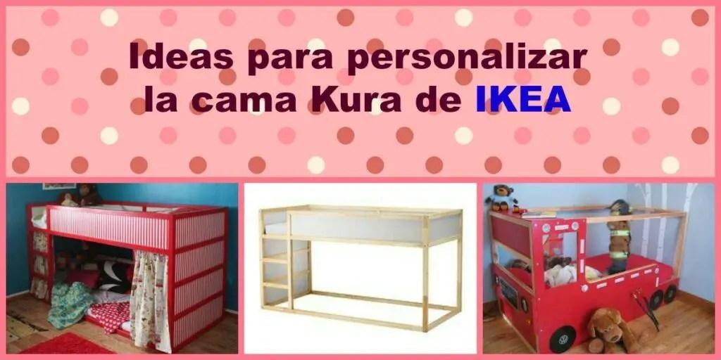 Ideas para personalizar la cama kura de ikea aprendiendo - Cama de ninos ikea ...