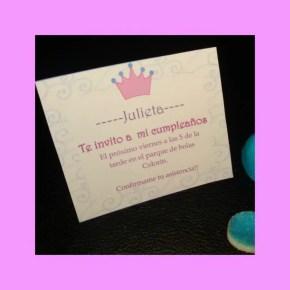 Invitación princesa