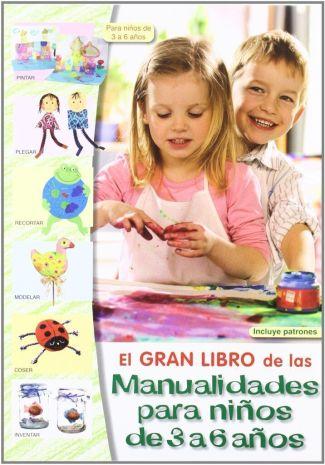 LIBRO DE MANUALIDADES PARA NIÑOS DE 3 4 5 6 AÑOS