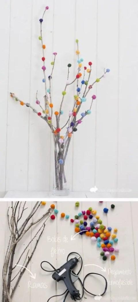 diy-ramas-con-pompones-de-colores
