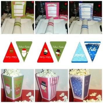 imprimibles-de-navidad-menus-banderines-cajas-carteles