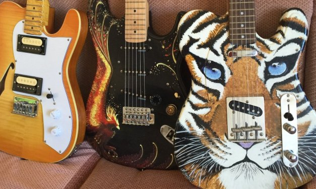 Montaje de una guitarra eléctrica tipo Stratocaster Parte 1: Presentación