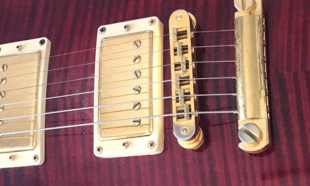 El puente Tune o'matic de la Gibson les Paul, ajuste y aspectos a tener en cuenta.