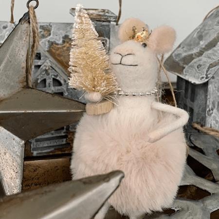 """Christmas """"Felties"""" Mice and Bunnies"""