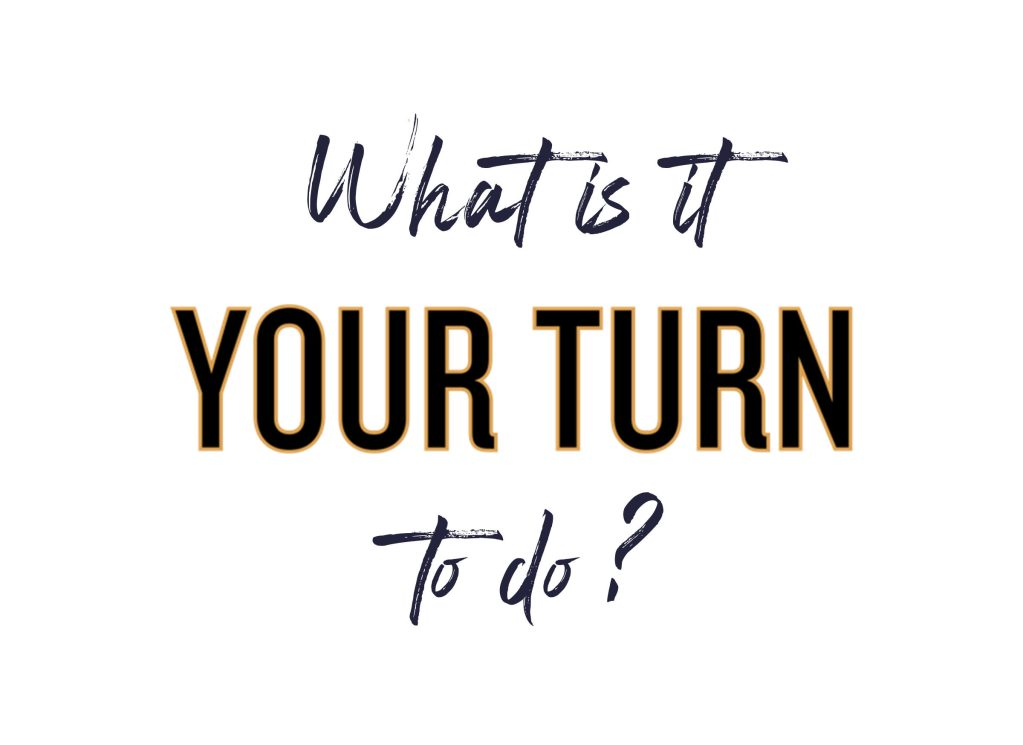 what is it your turn to do, your turn: careers kid and comebacks--a working mothers guide