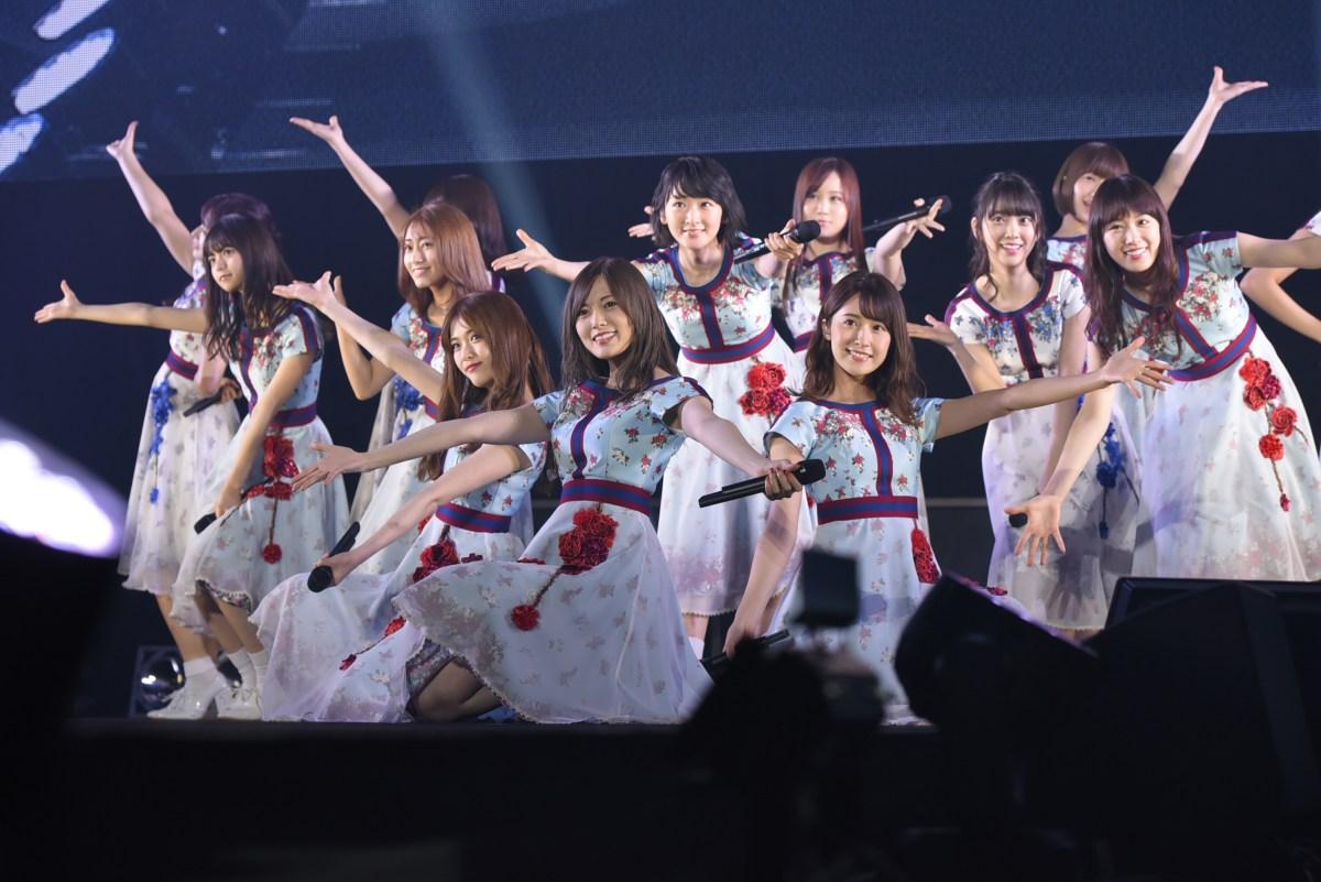 乃木坂46が広島初開催のTGCをランウェイ、ライブで盛り上げる『TGC広島』