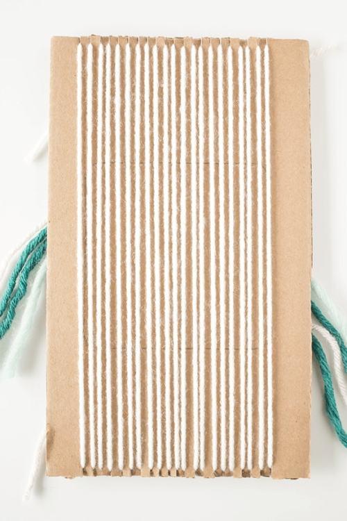 Woven Coaster Craft - Back Warp