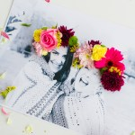 3D Flower Photo Art // Bespoke Bride