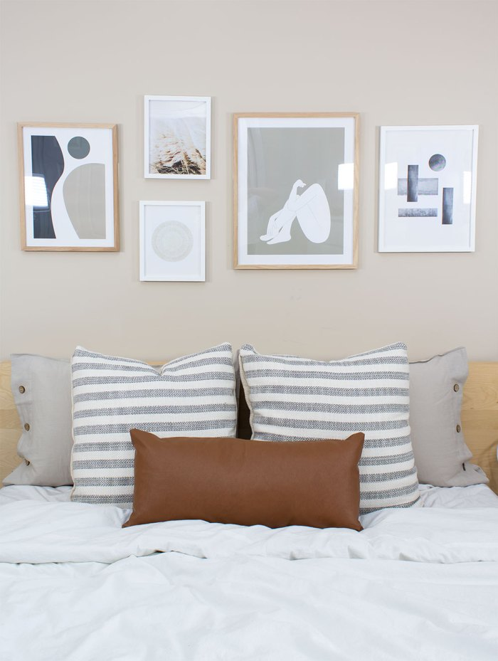 Diy Gallery Wall Bedroom Guide For Beginners A Pretty Fix