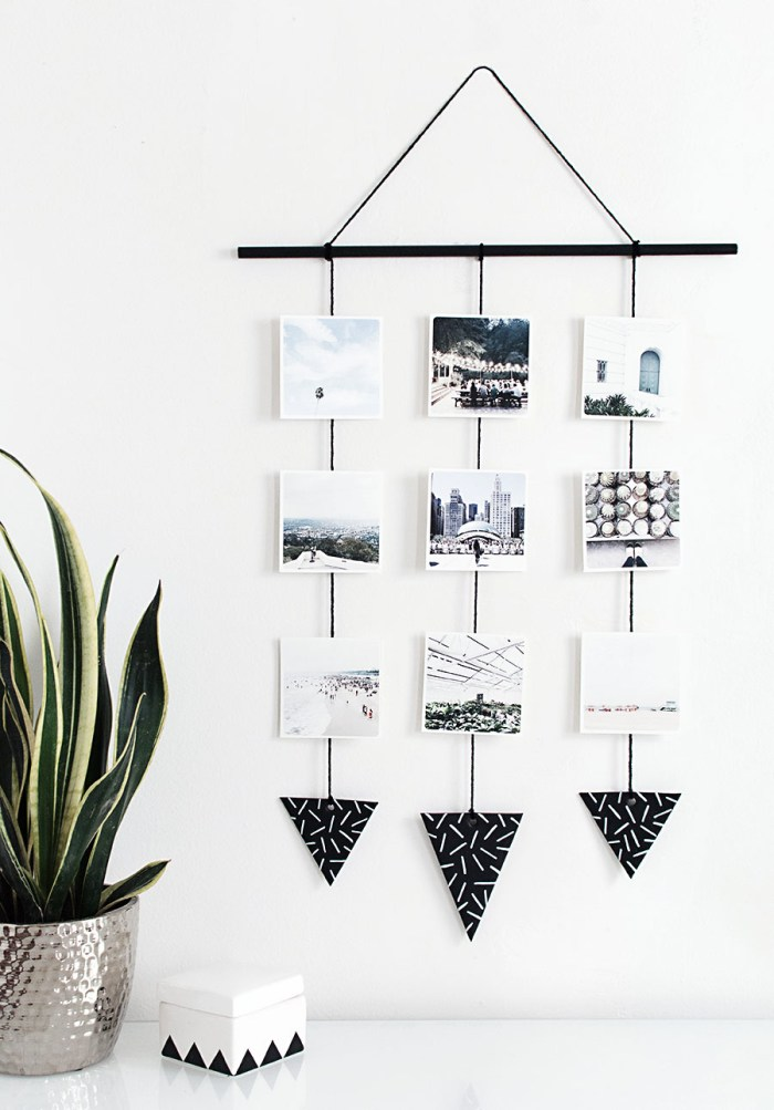 DIY Photo Wall Hanging // Home Oh My