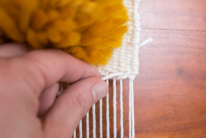 hemstitch bundle | DIY weaving