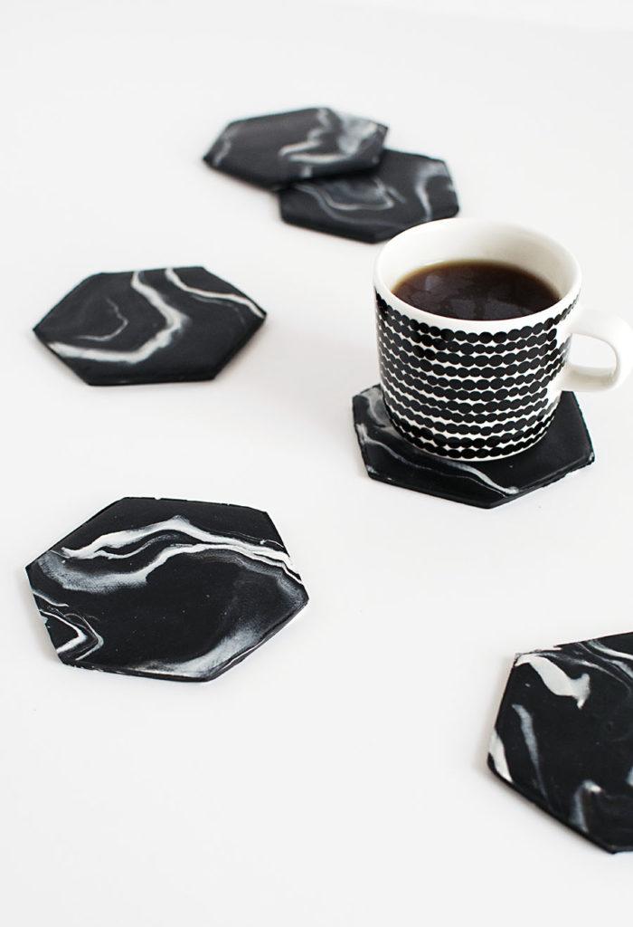 Hexagon-Marble-Coasters-DIY1