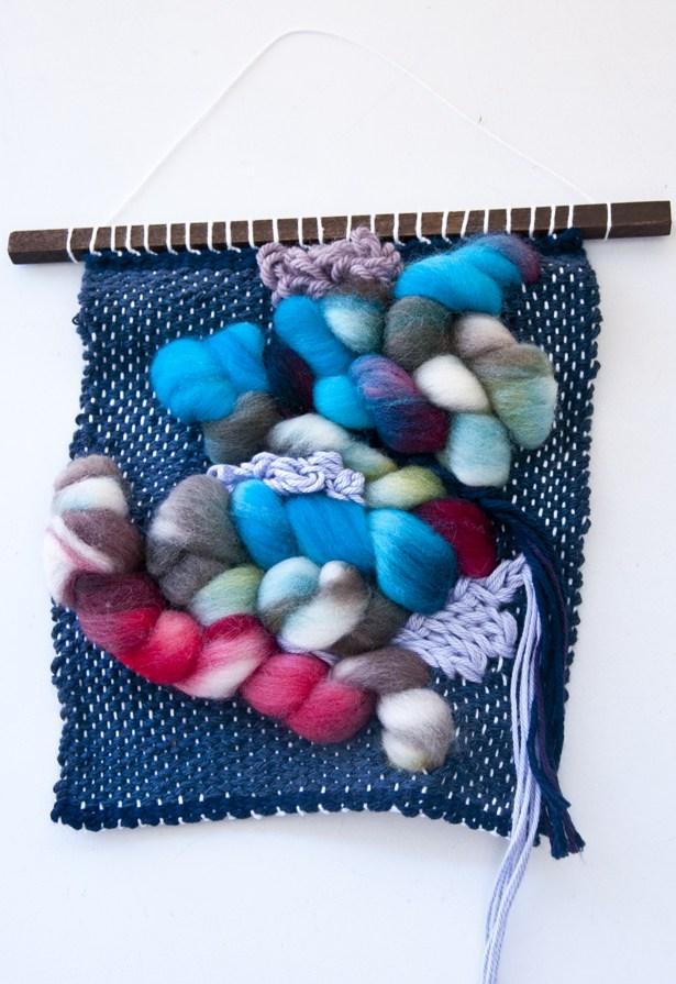 Kate, The Weaving Loom // OrganicRovingWeave