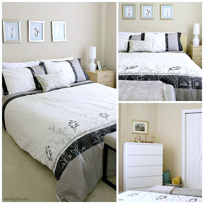 Pillows and blankets help make any space look better instantly.