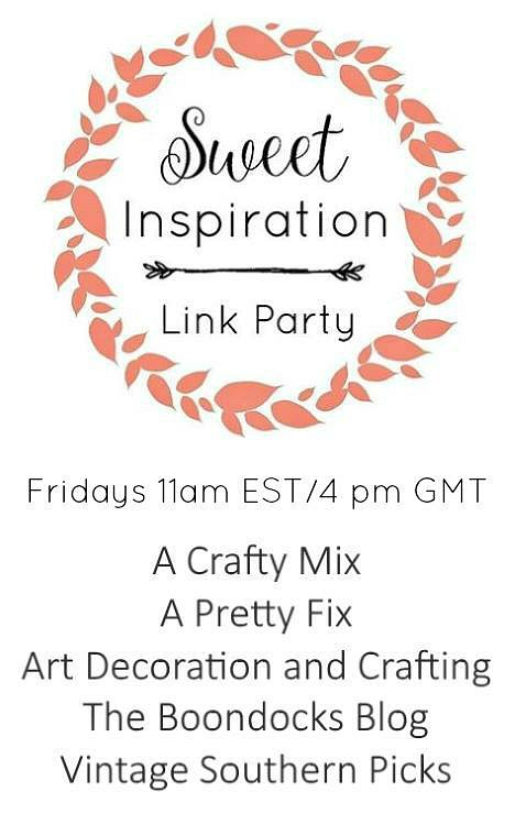 Sweet Inspiration Link Party #67 | craft, decor, DIY, recipes