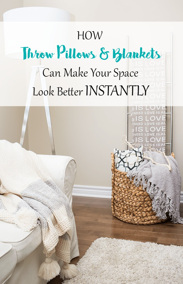 Decorating 101: How Throw Pillows and Blankets Can Make Your ...
