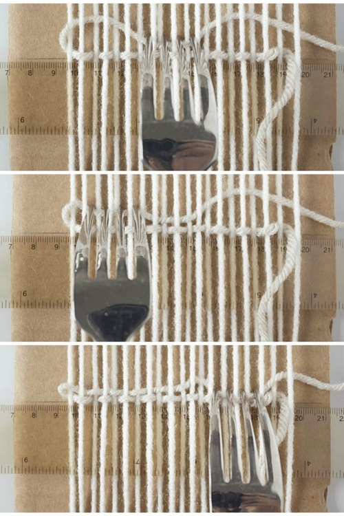 Woven Coaster Crafts - Weaving Arcs