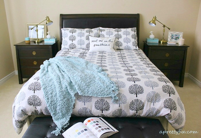 Pillows and blankets make any space in your home look better, instantly.