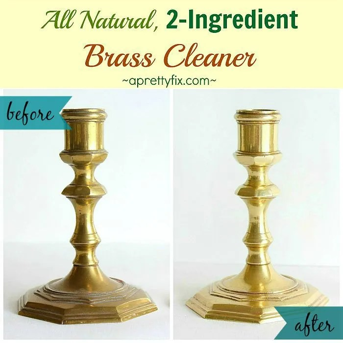Using common, kitchen ingredients you can clean brass without adding a toxic load to your home. If it was good enough for our mothers and grandmothers, it is good enough for us!