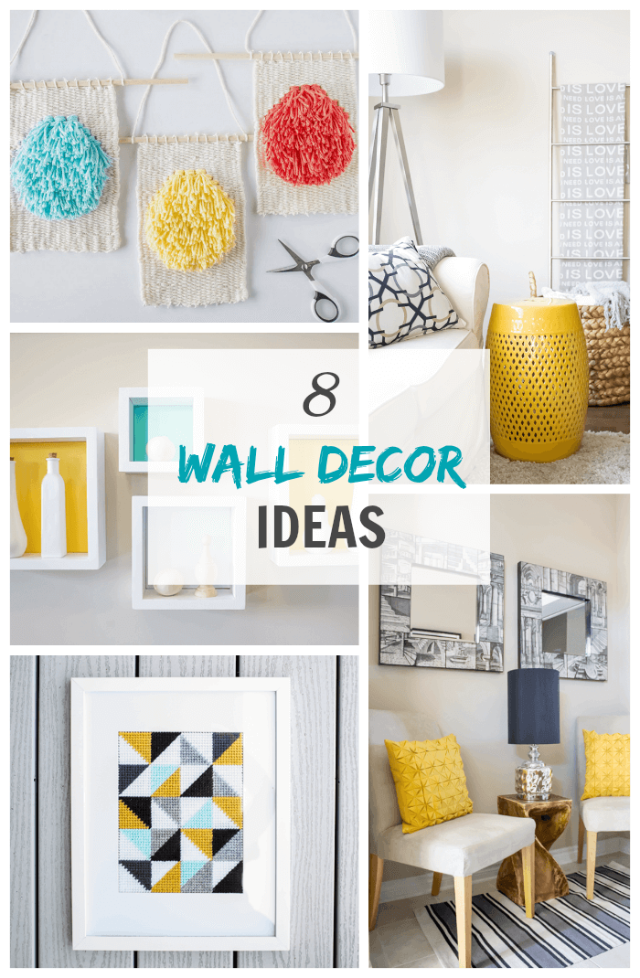 8 wall decor ideas for your home.