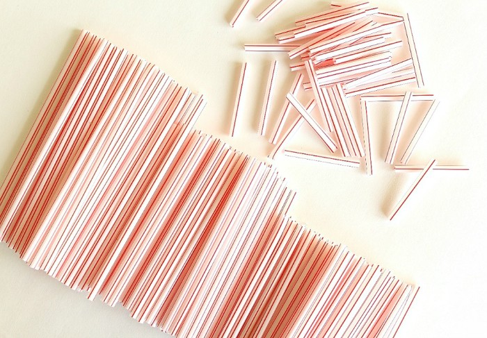 straws - different lengths