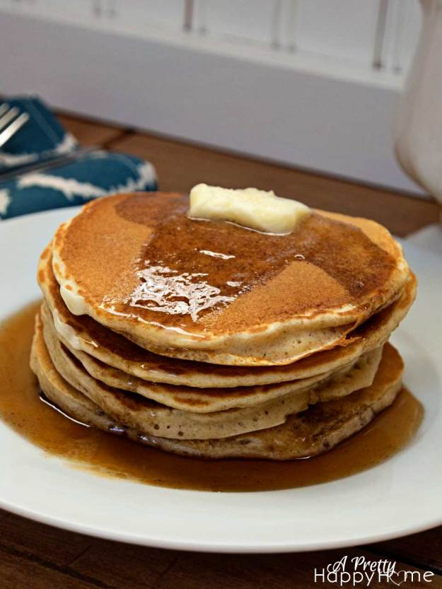 pancake stack on a plate