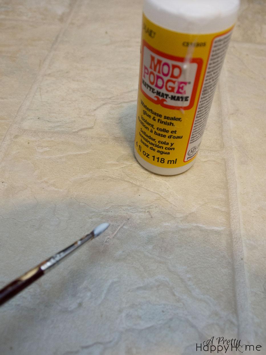 Repairing Nicks And Scratches Linoleum Vinyl Flooring Pretty Happy Home
