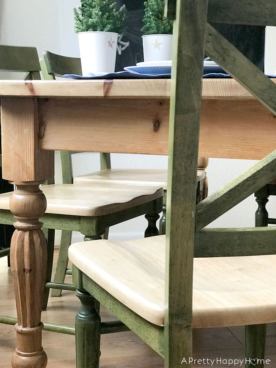refinish wood chairs without power tools a pretty happy home
