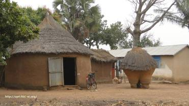 Dans le village de Babayaka