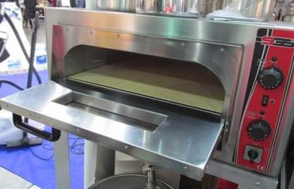 Печь электрическая для пиццы SGS РО 9262 Е. Корпус печи изготовлен из высококачественной нержавеющей стали. Дно печи выложено специальными керамическими плитами. Сделать заказ на apricot.