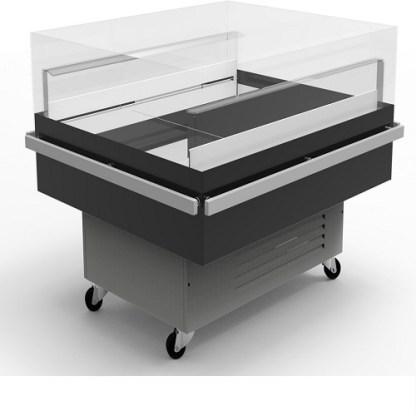 Холодильна вітрина гастрономічна Diana Cube 1.56 для зберігання добової норми продуктів. Тел. (050) 304-42-37, (067) 925-51-86.