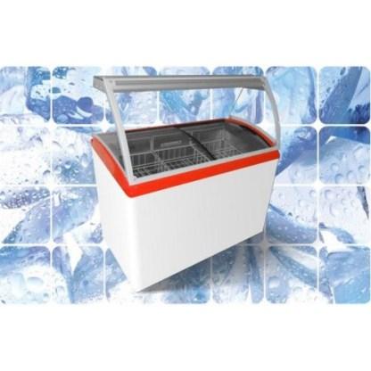 Вітрина для морозива JUKA M400SL. Ідеально поєднання малих розмірів з великою площею. ✈ Купити з доставкою по Україні на apricot. ☎ (044) 501-11-39.