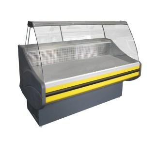 Холодильна вітрина Savona-П-1,7 ВС має збільшену ширину викладки для короткочасного зберігання продуктів і виконана в традиціях вітрин стандарт класу. Тел. (050) 304-42-37, (067) 925-51-86.