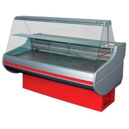 Универсальная холодильная витрина с плоским стеклом, шириной 0,9 м. отлично подойдет для хранения различной продукции. Купить по супер цене на apricot.
