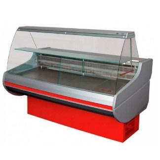 Универсальная холодильная витрина Siena-П-1,1-1,7 ВС с выпуклым стеклом, шириной 1,1 м. отлично подойдет для хранения различной продукции. Сделать заказ на apricot