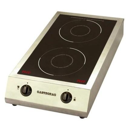 Плита індукційна GASTRORAG TZ BT-700A3 - для застосування в кафе і ресторанах, при виїзних обслуговуваннях при нечастих навантаженнях. Краща ціна ☝ apricot
