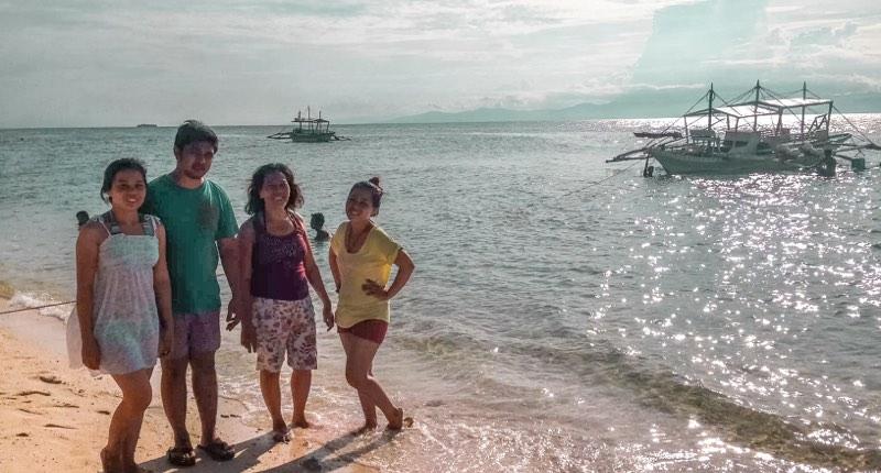 moalboal island, cebu, philippines